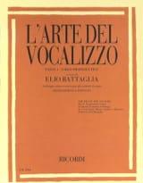 Elio Battaglia - The Del Vocalizzo arte. mezzo - Sheet Music - di-arezzo.com