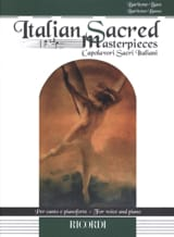 Italian Sacred Masterpieces. Baryton - Basse laflutedepan.com