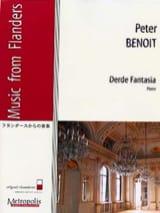 Derde Fantasia - peter Benoit - Partition - Piano - laflutedepan.com