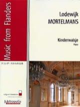 Valse Enfantine Lodewijk MORTELMANS Partition Piano - laflutedepan.com