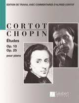 Etudes Opus 10 et Opus 25 CHOPIN Partition Piano - laflutedepan.com