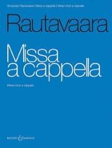 Missa a cappella Einojuhani Rautavaara Partition Chœur - laflutedepan