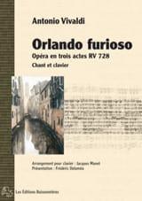 Antonio Vivaldi - Orlando Furioso RV 728 - Partition - di-arezzo.fr