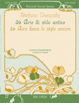 36 Arie di stile antico. Voix haute - laflutedepan.com