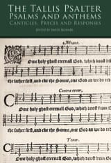 The Tallis Psalter & Anthems Thomas Tallis Partition laflutedepan