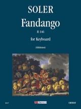 Fandango R 146 Antonio Soler Partition Clavecin - laflutedepan.com