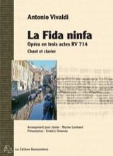 Antonio Vivaldi - La Fida Ninfa - Partition - di-arezzo.fr