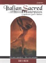 Italian Sacred Masterpieces. Soprano Partition laflutedepan.com