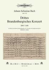 3° concerto brandebourgeois BWV 1048 BACH Partition laflutedepan.com