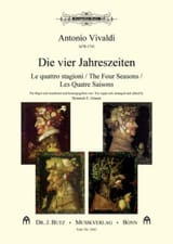 VIVALDI - The four Seasons - Sheet Music - di-arezzo.com