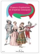 Chœurs d'opérettes et d'opéras comiques Partition laflutedepan.com