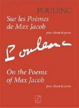 Sur les poèmes de Max Jacob Francis Poulenc Partition laflutedepan.com
