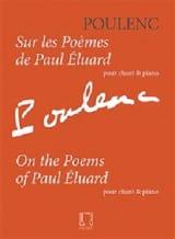 Sur les poèmes de Paul Eluard - Francis Poulenc - laflutedepan.com