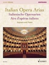 Airs d'Opéras Italiens. Soprano - Partition - laflutedepan.com