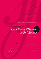 Jean-Philippe Rameau - The Hymen and Love Celebrations - Sheet Music - di-arezzo.co.uk