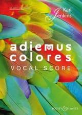 Adiemus colores Karl Jenkins Partition Chœur - laflutedepan.com