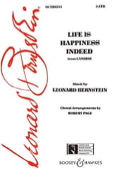 Leonard Bernstein - Life is happiness indeed. Candide - Partition - di-arezzo.fr