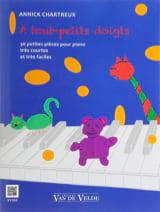 A tout-petits doigts Annick Chartreux Partition laflutedepan.com