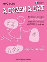 A dozen a day MINI BOOK - avec extraits audios inclus (en anglais) laflutedepan.com