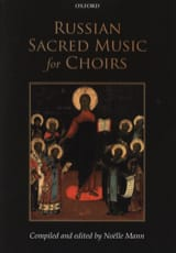 Russian sacred music for choirs Partition Chœur - laflutedepan.com