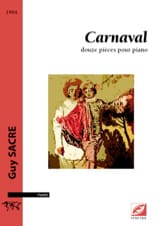 Carnaval Guy Sacre Partition Piano - laflutedepan.com