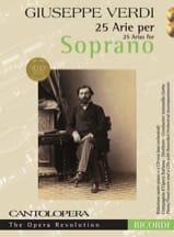 25 arie pour soprano + 2 CD Giuseppe Verdi Partition laflutedepan.com