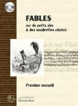Fables du 18ème. Livre 1 (+ CD) Partition Chœur - laflutedepan.com