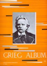 Piano album Volume 2 Edvard Grieg Partition Piano - laflutedepan.com