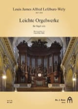 Louis-James-Alfred Lefébure-Welly - Leichte orgelwerke - Partition - di-arezzo.fr