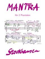 Karlheinz Stockhausen - Mantra Opus 32 - Partition - di-arezzo.fr