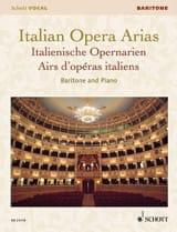 Airs d'Opéras italiens. Baryton Partition laflutedepan.com