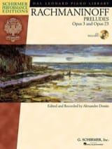 Préludes Opus 3-2 , Opus 23 RACHMANINOV Partition laflutedepan.com