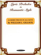 Lyric preludes in romantic style William Gillock laflutedepan.com