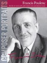 Portrait Francis Poulenc Partition Piano - laflutedepan.com