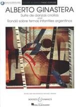 Alberto Ginastera - Suite de danzas criollas - Rondo sobre temas infantiles argentinos - Partition - di-arezzo.fr