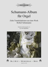 Schumann-Album für Orgel Robert Schumann Partition laflutedepan.com