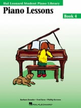 Kreader / Kern Jerome / Keveren - Piano lessons Book 4 - Sheet Music - di-arezzo.co.uk