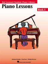 Kreader / Kern Jerome / Keveren - Piano lessons Book 5 - Partition - di-arezzo.fr