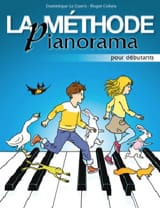 La Méthode Pianorama Partition Piano - laflutedepan.be