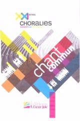Chant commun XXIèmes Choralies. 2013 Partition laflutedepan.com