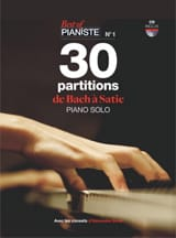 30 Partitions de BACH à SATIE BEST OF PIANISTE N° 1 laflutedepan.com