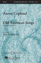 Aaron Copland - Old american songs Choral suite II - Partition - di-arezzo.fr