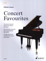 Concert Favourites - Partition - Piano - laflutedepan.com