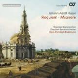 Requiem. Miserere Johann Adolf Hasse Partition laflutedepan.com