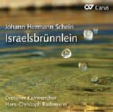 Johann Hermann Schein - Israelsbrünnlein (2 CD) - Partition - di-arezzo.fr