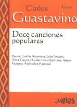 Doce canciones populares Carlos Guastavino Partition laflutedepan.com