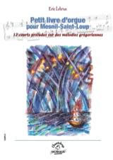 Petit livre d'orgue pour Mesnil-Saint-Loup laflutedepan.com
