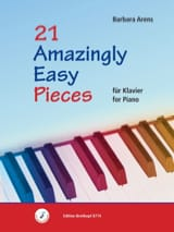 21 Amazingly easy pieces Barbara Arens Partition Piano - laflutedepan
