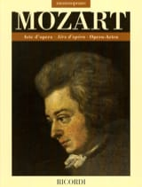 MOZART - Arie d'opera. Mezzo-Soprano - Partition - di-arezzo.fr