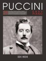 Puccini Easy piano Giacomo Puccini Partition Piano - laflutedepan.com